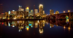 Minneapolis Reflection